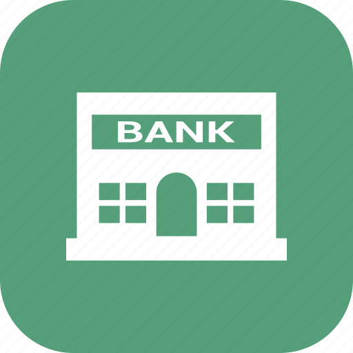 bank, building, office, real icon
