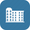 apartment, building, condo, minimalist icon