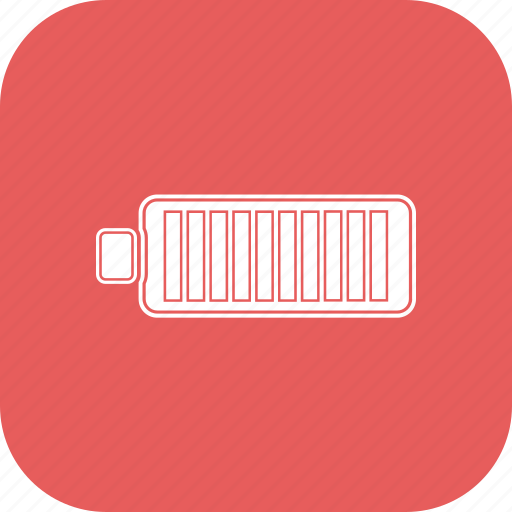 Battery, full, half icon - Download on Iconfinder