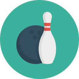 ball, bowling, game, sport icon