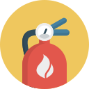 extinguisher, fire icon