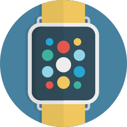 clock, device, smart, smartwatch, time, watch icon