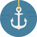 anchor, link, nautical, naval, sailing, sailor icon