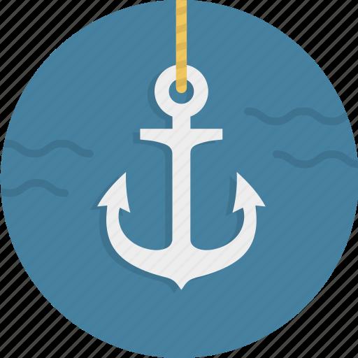 anchor, link, nautical, naval, sailing, sailor icon