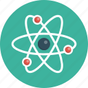 atom, discovery, energy, genius, innovation, molecule icon