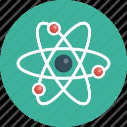 atom, discovery, energy, genius, innovation, molecule icon