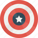 caps, captain, hero, marvel, shield icon