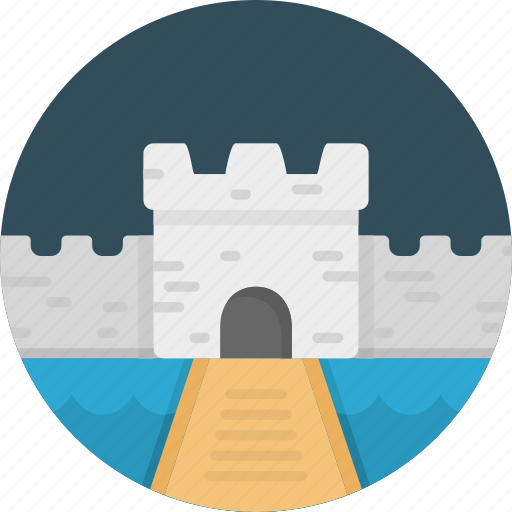 building, castle, fantasy, history, tower icon
