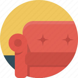 chair, home, room icon