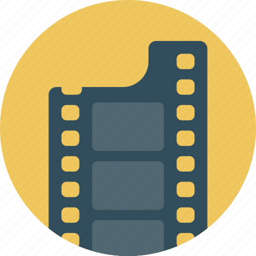 cinema, film, media, movie, reel, video icon