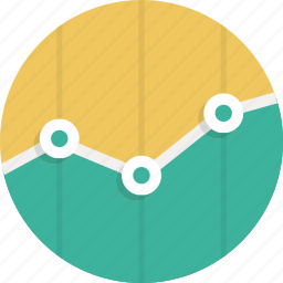 analytics, bars, chart, graph, presentation, statistic icon