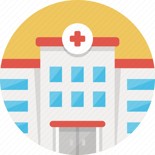 building, cross, health, healthcare, hospital, medical icon