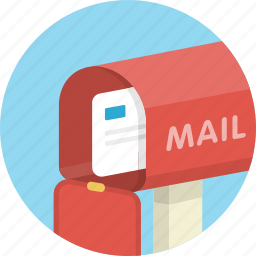 e-mail, email, envelope, inbox, letter, mail, mailbox icon