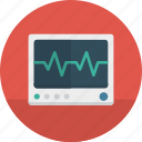 health, hospital, medical, monitor icon