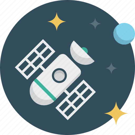 gps, navigation, satellite, space icon