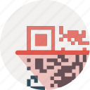 code, product, scan icon