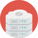 cloud, data, database, network, safe, server, storage icon