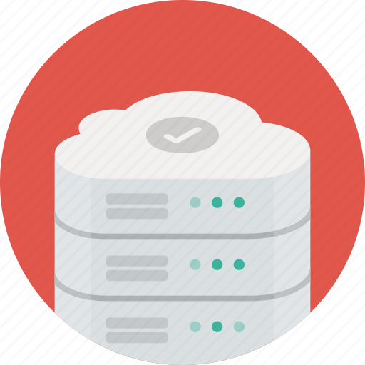 cloud, data, database, network, safe, server, storage icon