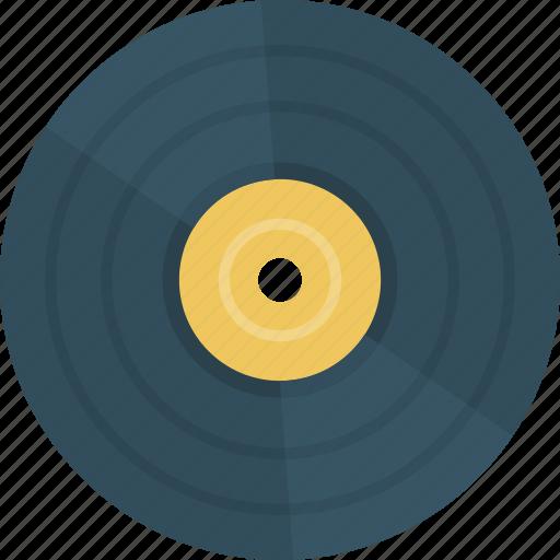music, vinyl icon