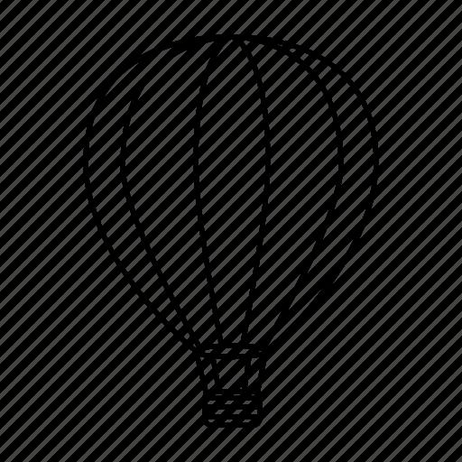 air, air balloon, aircraft, balloon, balloons, hot air balloon icon