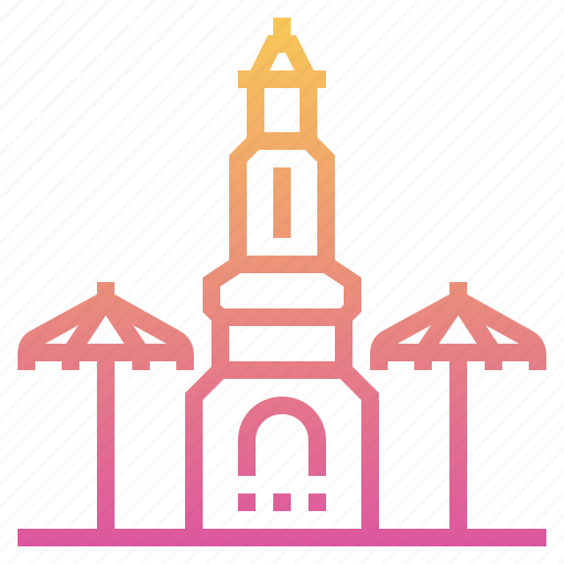 bangkok, chatuchak weekend market, landmark, thai, thailand, tourism, travel icon