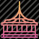 architecture, bangkok, building, landmark, rama ix park, thai, thailand icon