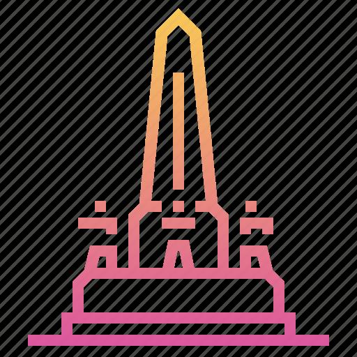 architecture, bangkok, landmark, monument, thai, thailand, victory monument icon