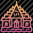bangkok, buddhist, landmark, temple, thai, wat, wat benchamabophit