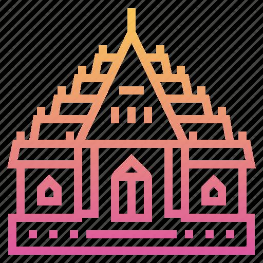 Bangkok, buddhist, landmark, temple, thai, wat, wat benchamabophit icon - Download on Iconfinder