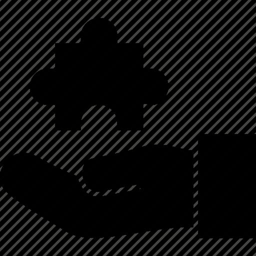 piece, problem, puzzle, solution, solving icon