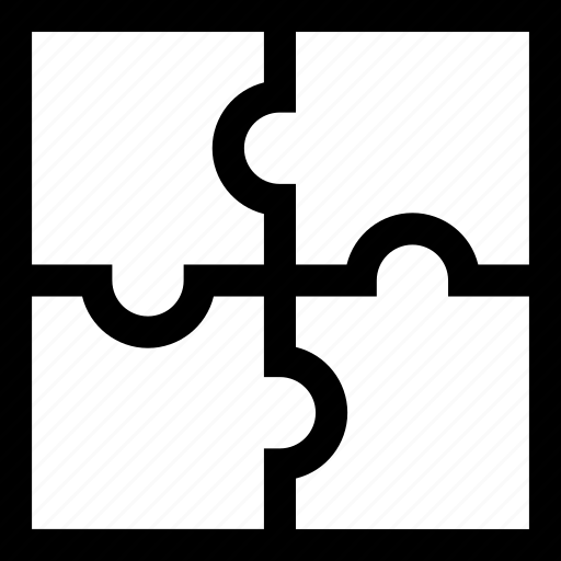 game, jigsaw, pieces, puzzle icon