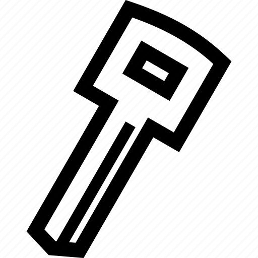 door, key, lock, unlock icon