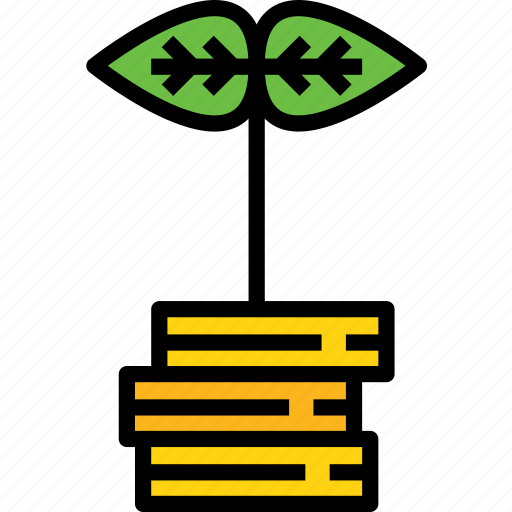 bank, banking, business, finance, growth, money icon