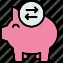 bank, banking, business, exchange, finance, piggy