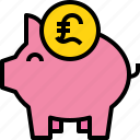 bank, banking, business, finance, piggy icon