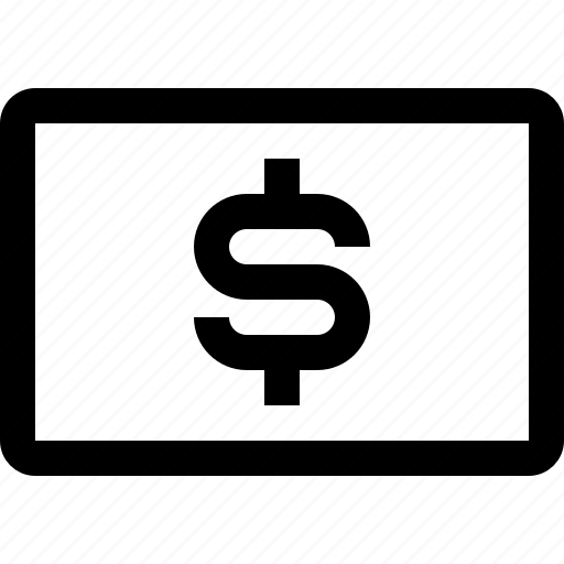 bank, bill, business, finance, financial, money icon