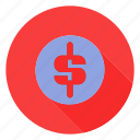 bank, cash, currency, dollar icon