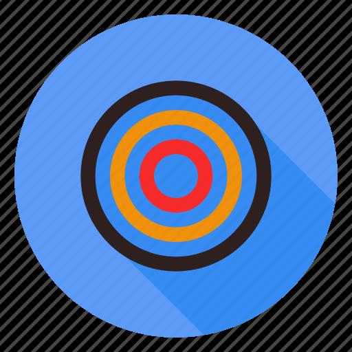 aim, bullseye, effectiveness, goal, target icon