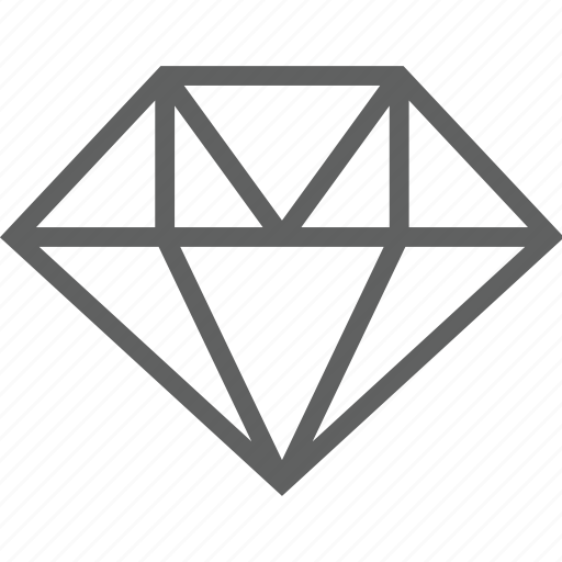 bank, diamond icon