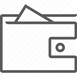 bank, wallet icon