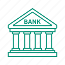 appointment, bank, cash, credit, money icon