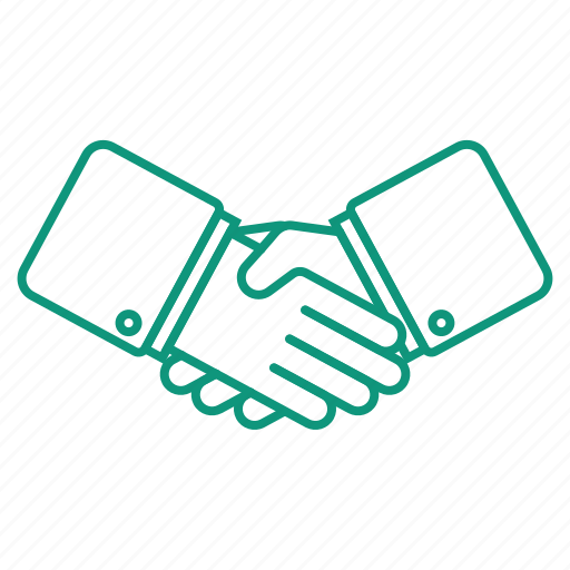 agreement, deal, money, shake hands icon