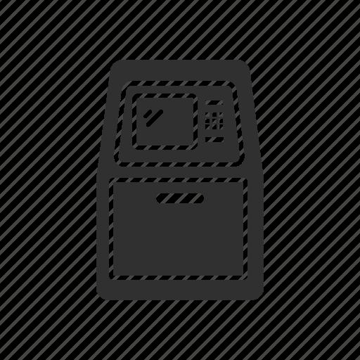 atm, automated teller machine, bank, money icon