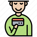 banking, card, cashless, credit, payment icon