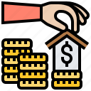 asset, home, loan, mortgage, property icon