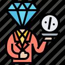 customer, discount, premium, promotion, service icon
