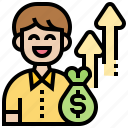 cash, focus, investment, profit, saving