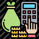 accounting, balance, budget, calculation, financial