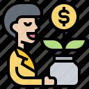 fund, investment, money, profit, saving