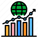 statistics, financial, graph, stock, market